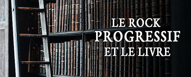 Le rock progressif et le livre