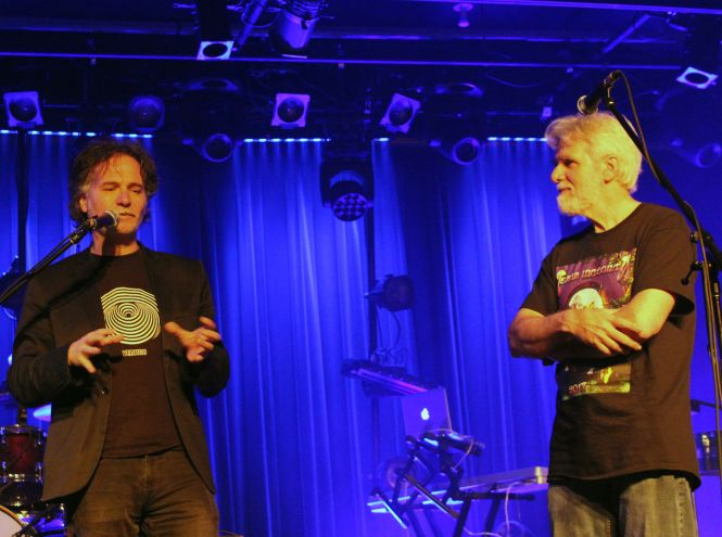 Fabio Zuffanti et Michel BIlodeau