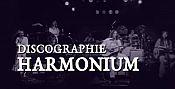Discographie : Harmonium